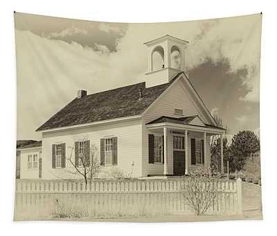 Farmhouse School Tapestry