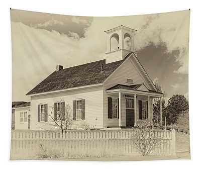 Farmhouse School Tapestry
