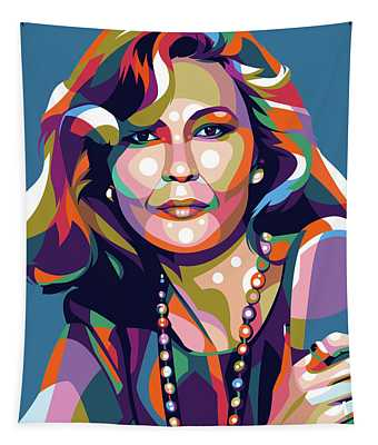 Faye Dunaway Tapestry