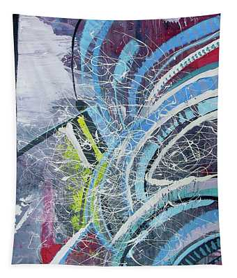 Feathers Of The Curve Tapestry