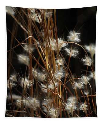 Feathery Flora Tapestry