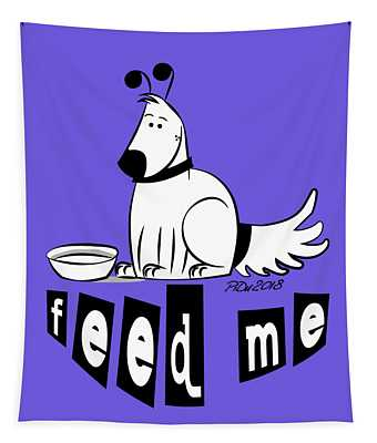 Feed Me Tapestry