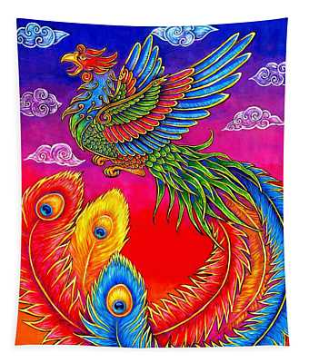 Fenghuang Chinese Phoenix Tapestry