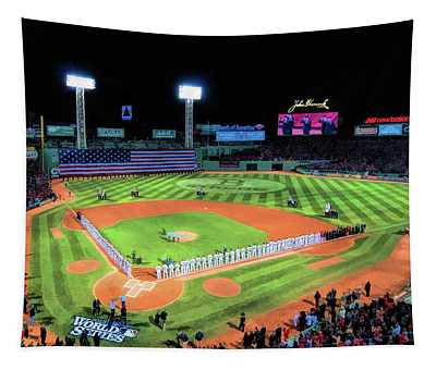 Fenway Park Boston Red Sox Tapestry