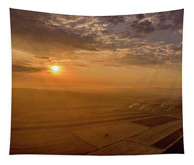 Fields On The Sunset Tapestry