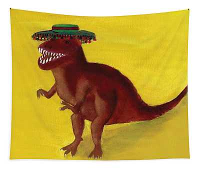 Fies-t-rex Tapestry