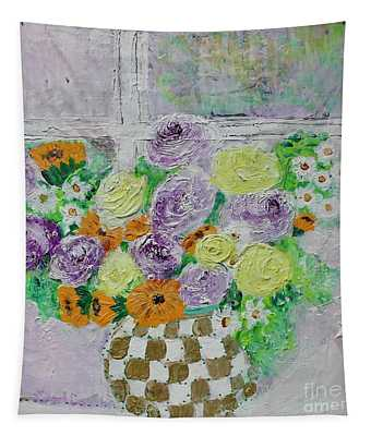 Figs And Twigs Bouquet Tapestry