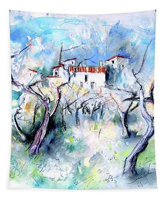 Finca On The Costa Blanca 03 Tapestry