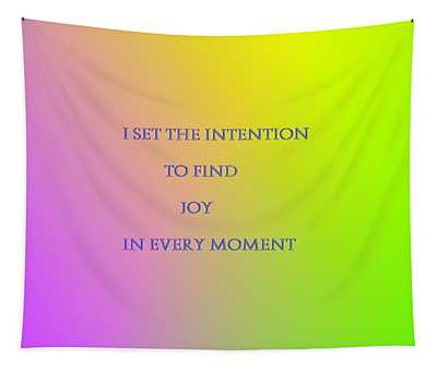 Finding Joy Tapestry
