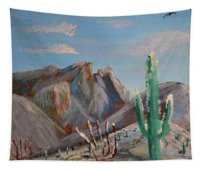 Finger Rock Winter Tapestry