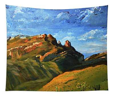 Finger Rock Splendor  Tapestry
