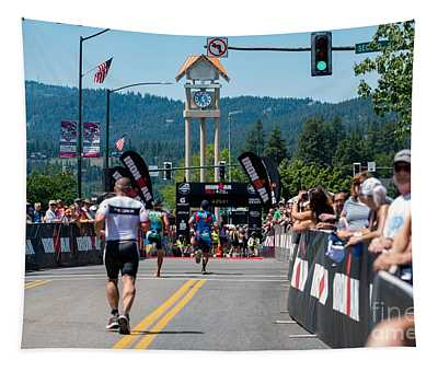 Tapestry featuring the photograph Finish Line by Matthew Nelson