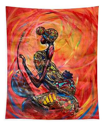 Fire Music Tapestry