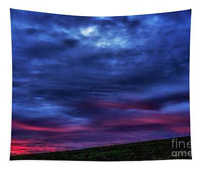 First Light Of Winter Dawn Tapestry