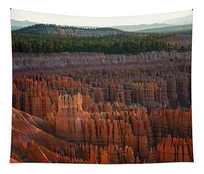 First Light On The Hoodoo Inspiration Point Bryce Canyon National Park Tapestry