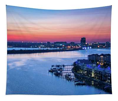 Firstlight Over Clearwater Tapestry