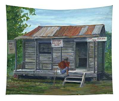 Fish Store, Natchitoches Parish, Louisiana Tapestry