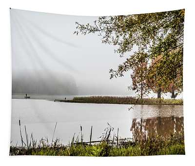 Fishing In The Fog - Color Tapestry