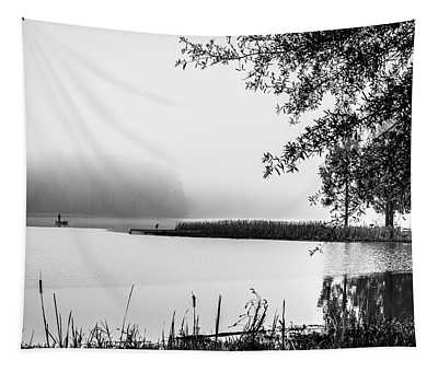 Fishing In The Fog II Tapestry