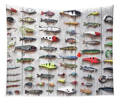 Fishing Lures - Dwp2669219 Tapestry