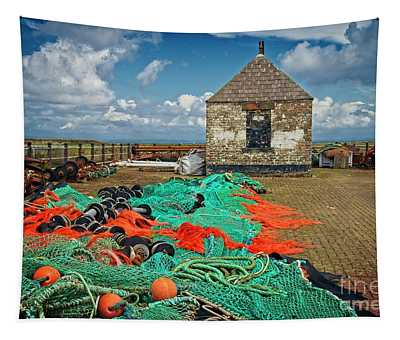 Fishing Nets At Maryport Tapestry