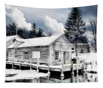 Fishtown Michigan Tapestry