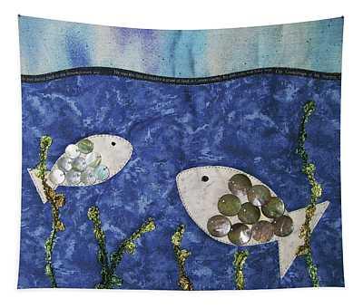 Fishy Fishy Tapestry