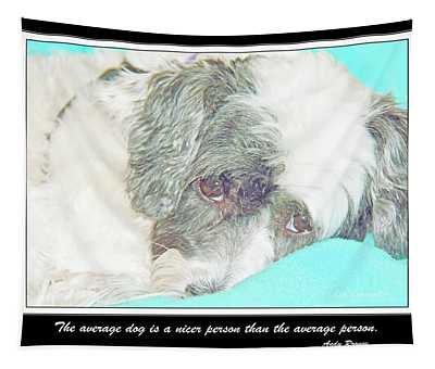 Five-year Old Havanese Dog Female Tapestry