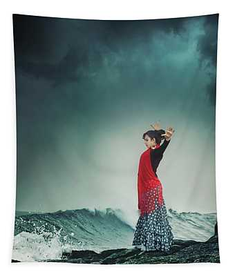 Flamenco Infusion Tapestry