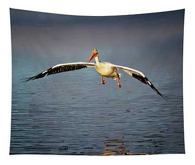Flaps Down Tapestry