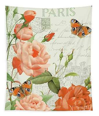 Fleurs Francaises A Tapestry