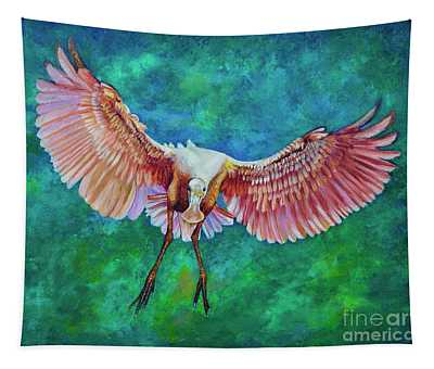 Fledgling Flight Tapestry