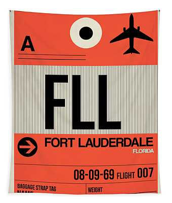 Fll Fort Lauderdale Luggage Tag I Tapestry