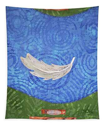 Floating Feather Tapestry