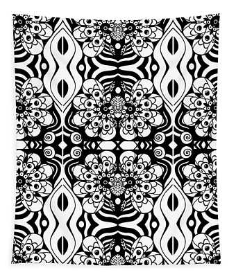 Floral Expressions Tapestry