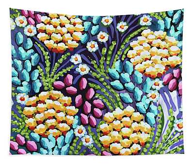 Floral Whimsy 2 Tapestry