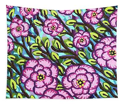 Floral Whimsy 3 Tapestry
