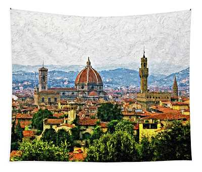 Basilica Of Saint Mary Photographs Wall Tapestries