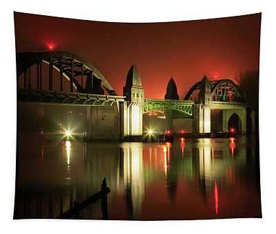 Florence Siuslaw River Bridge Tapestry