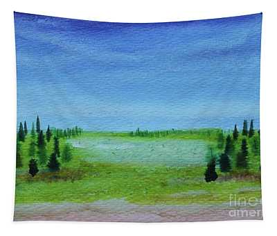 Florid Forest Tapestry