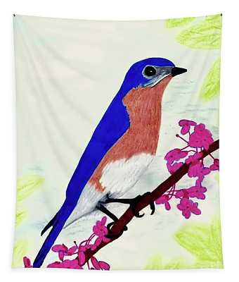 Florida - Eastern - Blue Bird Tapestry