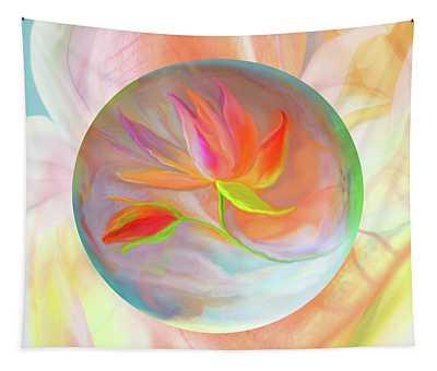 Flower Floater Tapestry