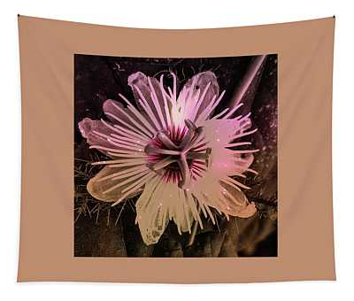 Flower With Tentacles Tapestry
