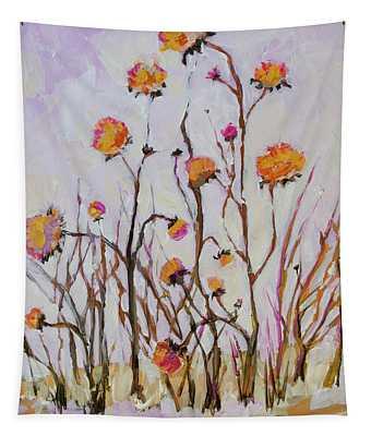 Flowers In Winter Tapestry