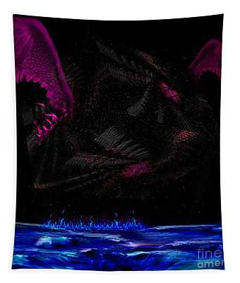 Fly Dice Tapestry