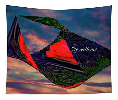 Fly With Me Tapestry