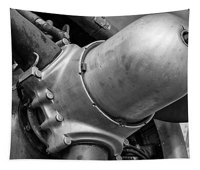 Flying Fortress Propeller Hub Tapestry