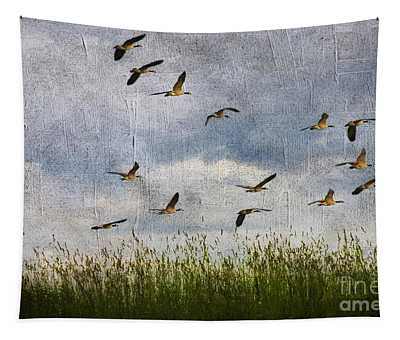 Flying Together Tapestry