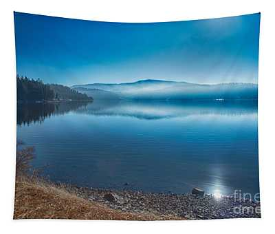 Tapestry featuring the photograph Fog And Sun by Matthew Nelson