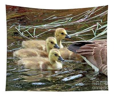 Following Mom's Lead Tapestry